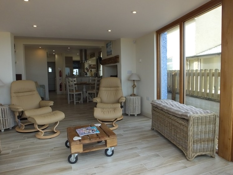 Lounge at Beach Cottage, Anderby Creek