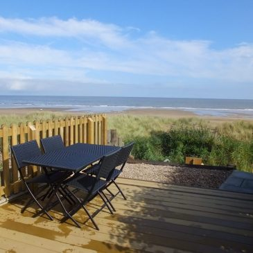 View from Beach Cottage, Anderby Creek