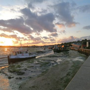 Sunset in Leigh-on-Sea