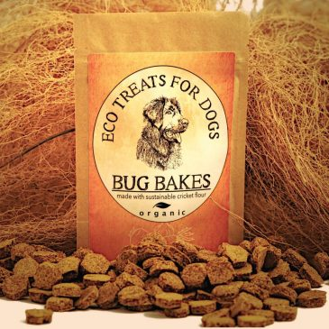 Packet of Bug Bakes dog treats