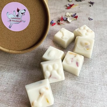 Some of the eco-friendly wax melts from Sniffs