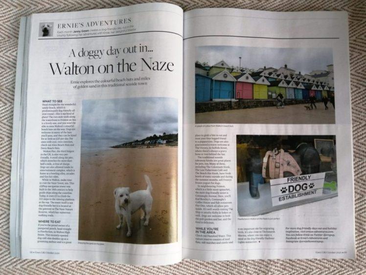 Ernie's Essex Life column about Walton-on-the-Naze