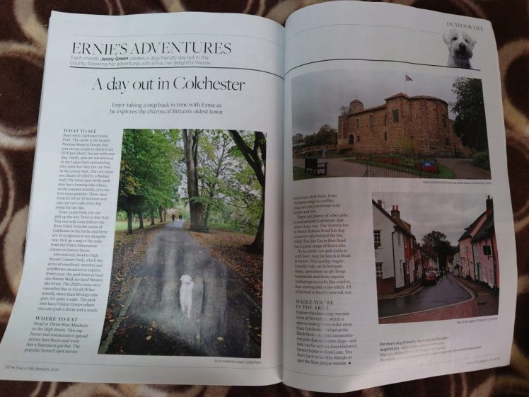 Ernie's Essex Life column about Colchester