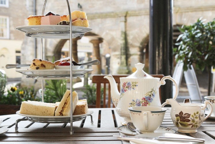 Afternoon tea at The Snooty Fox in Tetbury
