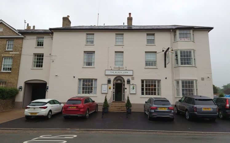 Exterior of The Black Lion, Long Melford