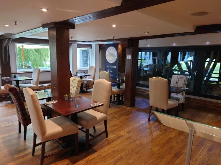 Riverside Restaurant at The Mill Hotel, Sudbury