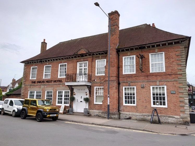 Exterior of the Swan's Nest Hotel, Stratford-upon-Avon