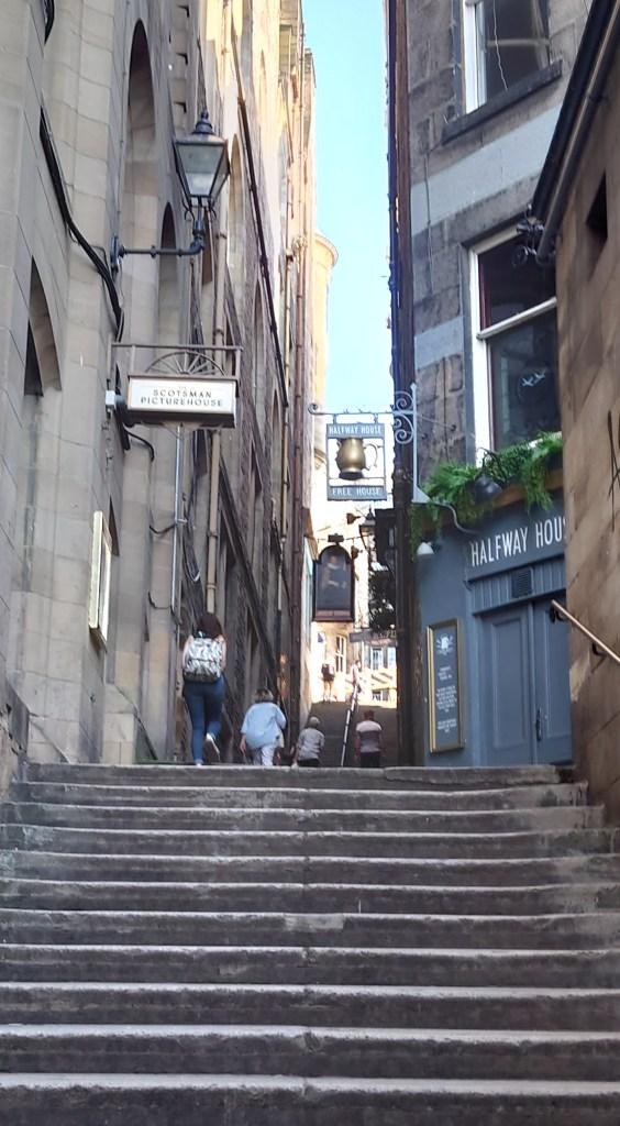 Steps in Edinburgh