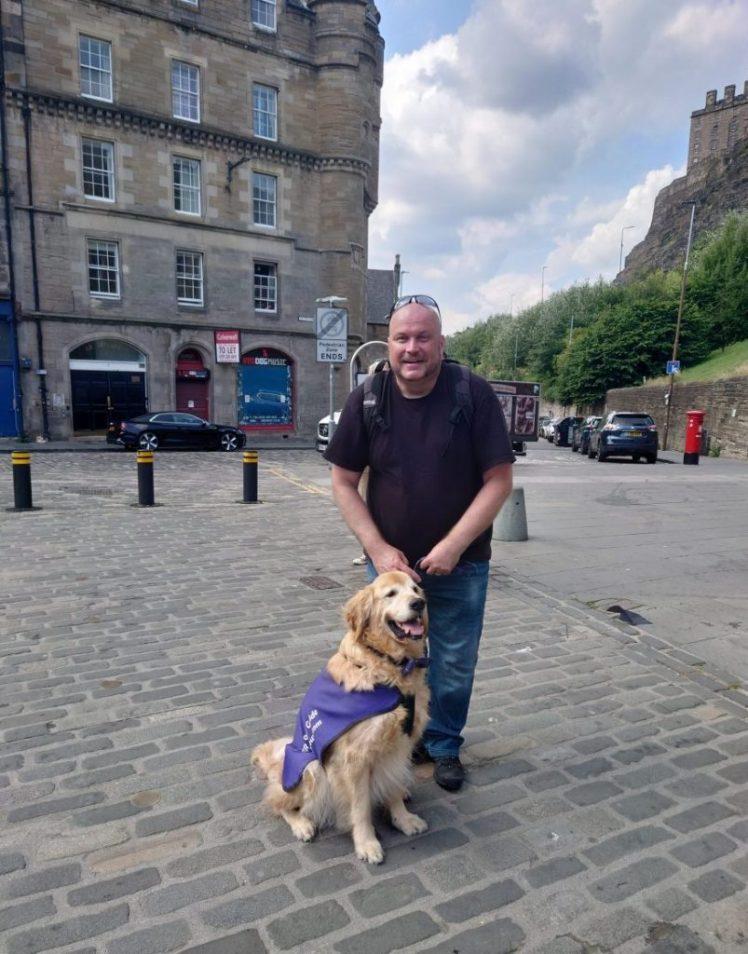 Sami and Sawyer from Wee Walking Tours, Edinburgh