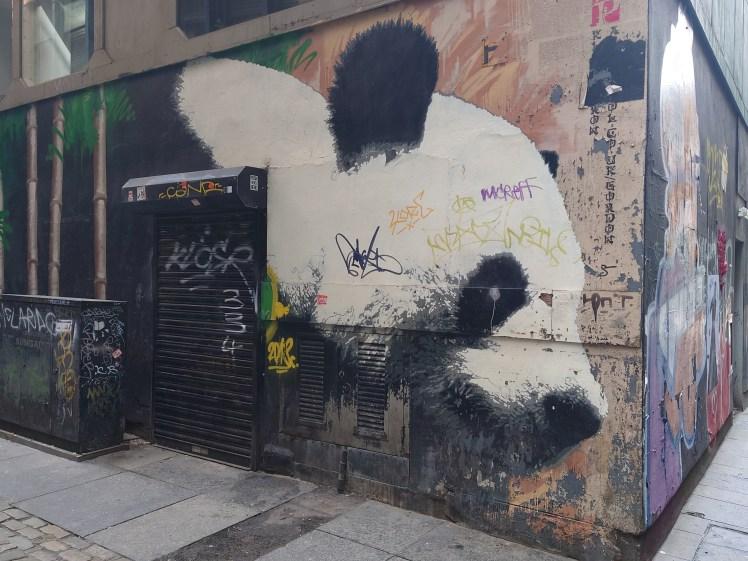 Glasgow Panda on the Glasgow Mural Trail