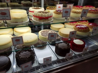 Cheesecake at Junior's