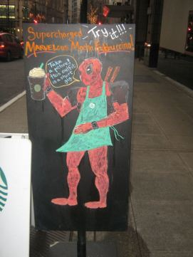 Even Starbucks gets in on the fun
