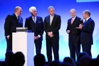 Talkrunde,v.l.: Jörg Thadeusz, Dr. Walter Richtberg, Lutz Marmor, Michael Westhagemann, Olaf Scholz