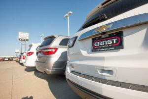 Pre-owned car selection