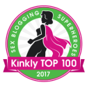 Kinkly Top 100 Blogger Badge