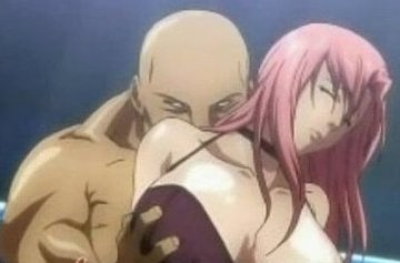 巨乳美女の陵辱ショーのエロアニメ画像