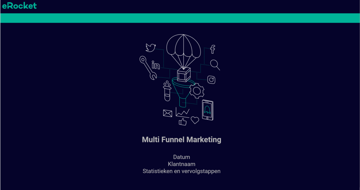 Online marketing presentatie