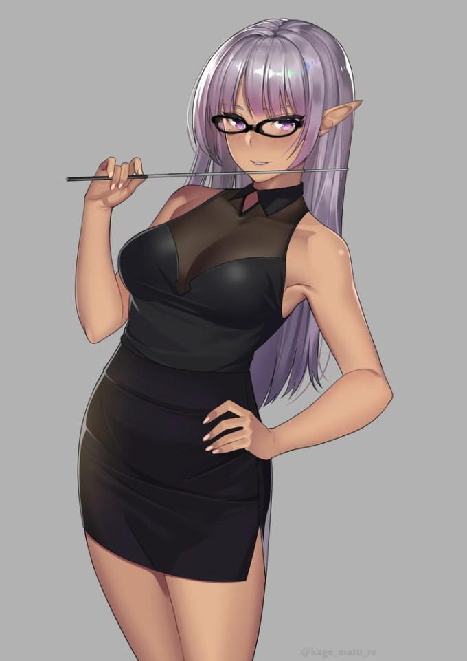 11のエロ画像13 - 【二次】紫髪の女の子のエロ画像 Part11