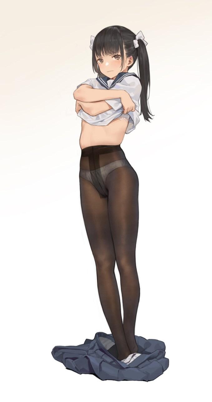 28の二次エロ画像15 - 【二次】タイツ、パンストを履いた女の子のエロ画像 Part28