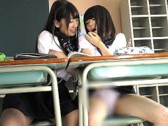 生田みく霧島さくらJK巨乳レズ美少女貧乳ラブラブ可愛い少女教室巨乳JKと貧乳JK、どちらも可愛い美少女JKが教室でラブラブレズSEX14:55