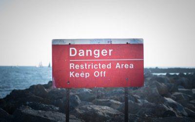 津波警戒区域