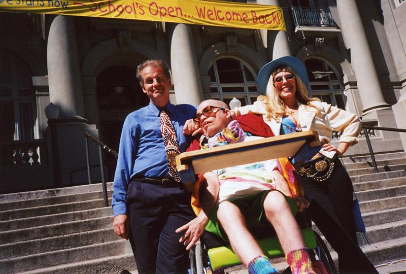 Kriss Worthington, Frank Moore, Dr. Susan Block