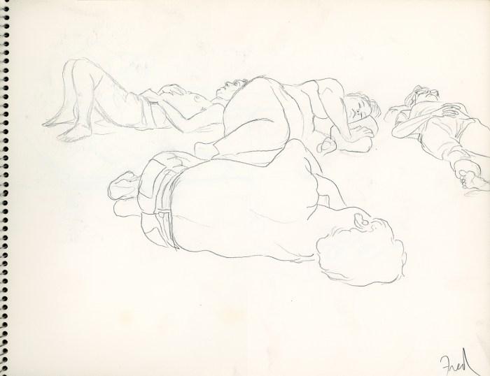 Drawings by Fred Hatt