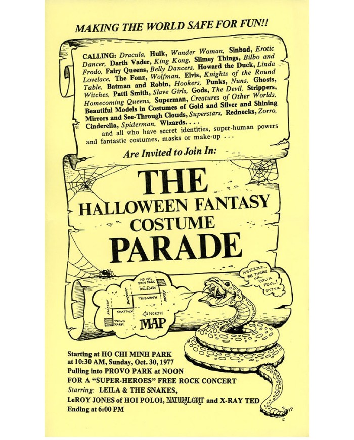 The Halloween Fantasy Costume Parade poster