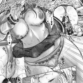 【エロ漫画】メチャクチャ目つきの悪いJK番長が彼氏と2人きりになると甘えだすのでセックスしてあげるとアヘ顔になりながら中出しさせちゃいますwww