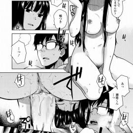 【エロ漫画】研究室の女子高生が先生のところへ行きイチャイチャしだしたと思ったら生ハメセックスを開始してたっぷりと中出しwww