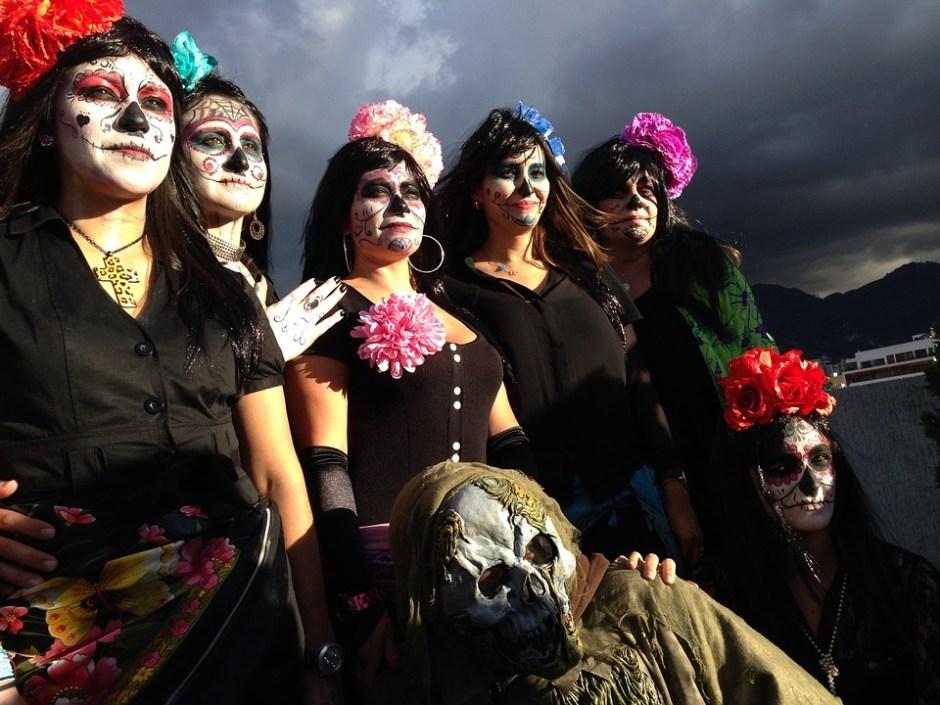 day of the dead death catrina mexico