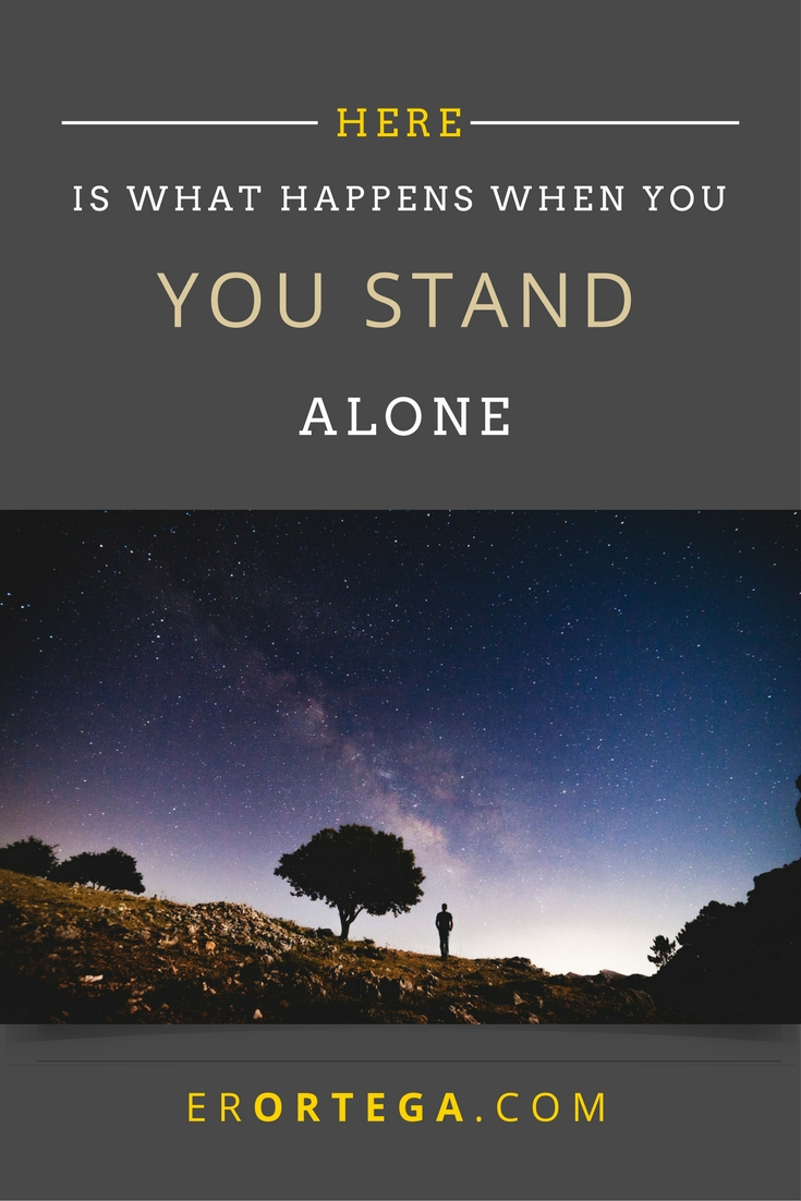 Here is What Happens When you Stand Alone. Knowing Where My Writing Belongs While Knowing Who It Belongs To. Have you felt like you are alone in your creative process?
