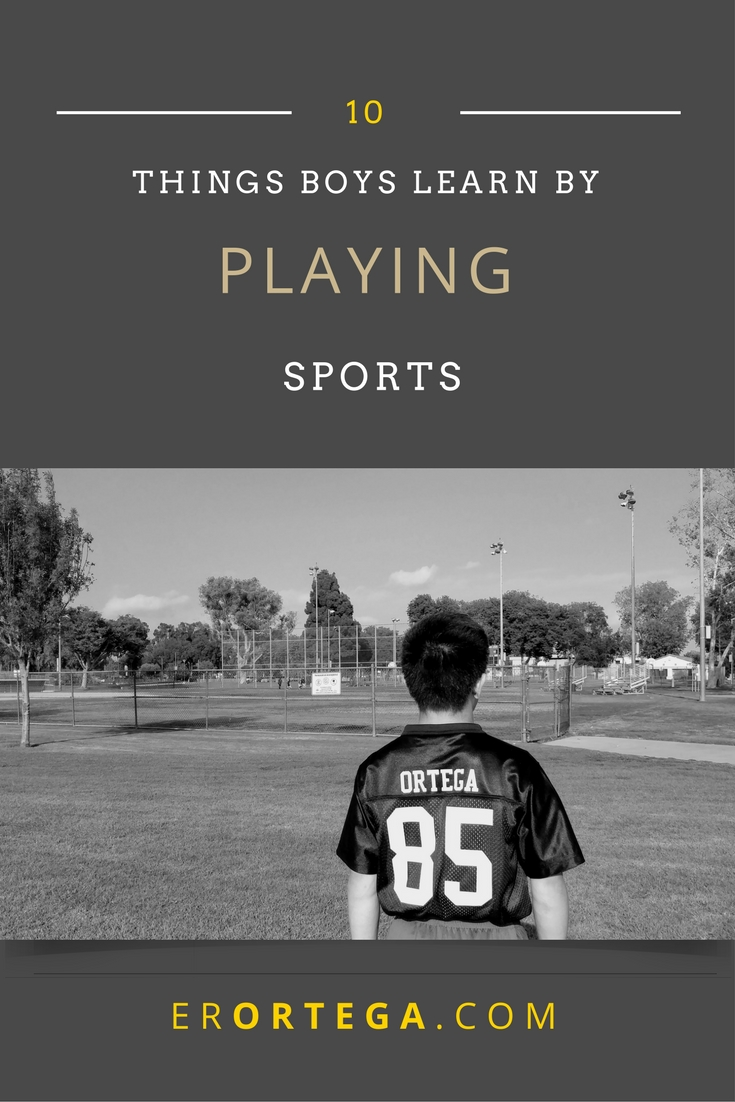Are you reluctant to let your boy play team sports? This post lists 10 things boys learn by playing sports. What they learn through sports can indeed take them the distance through their adult lives. It's no surprise that there is something palpable about sports building the character of boys. Click to read the whole post or repin to read later. Read the list here. homeschool| sports| boys| football