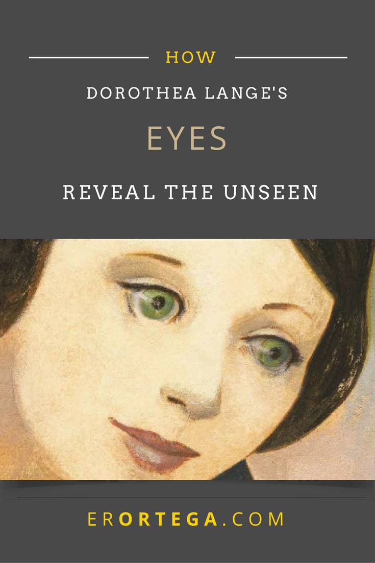 Dorothea's Eyes Reveal What We Cannot See. The truth, seen with love, becomes the art of Dorothea. Click to read and respond.