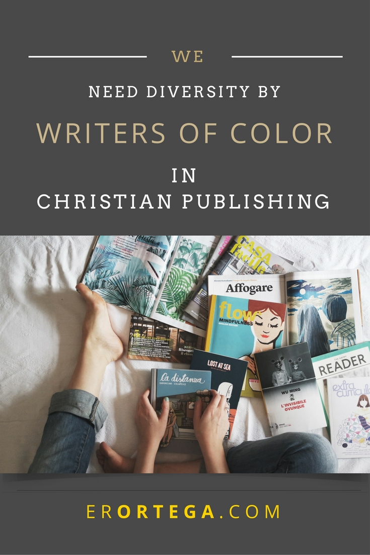 Why does Christian fiction continue to underrepresent writers of color? The struggle of entering a majority-white industry also takes a psychological toll on people of color because of the lack of cultural connections and the constant sensation of looking and feeling different. Read more about this topic that many don't want to discuss.