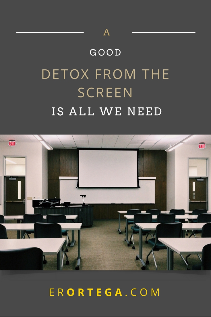 What occupies our time will be very telling of who we are. Click to find out how to detox from those devices, those anti-social devices and smell the roses instead.