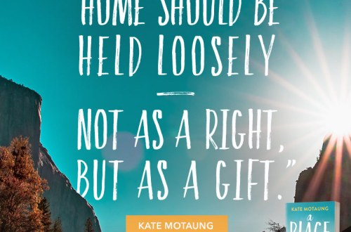 Interview with Kate Motaung