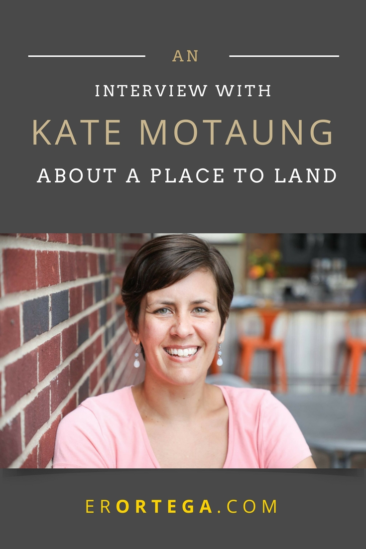 An Interview with Kate Motaung. Here we discuss displacement, surrender, and landing in the center of God's will. Kate Motaung is the author of A Place to Land: A Story of Longing and Belonging, a memoir that offers a fresh perspective on love and loss, divorce, and finding welcome in a place far from home. Click to read full interview.