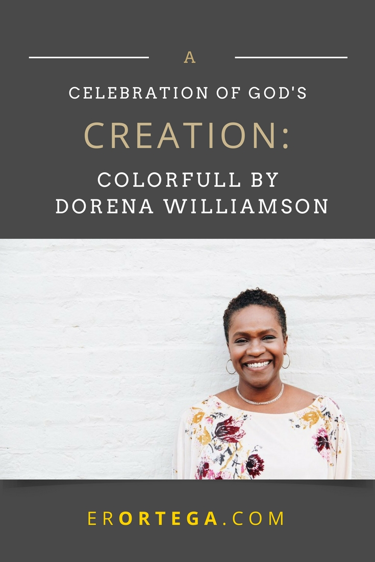 Why be colorblind when we can be colorfull instead? Imani and Kayla are the best of friends who are learning to celebrate their different skin colors. As they look around them at the amazing colors in nature, they can see that their skin is another example of God's creativity! Click to read my complete book review of Dorena Williamson's children's book: Colorfull.