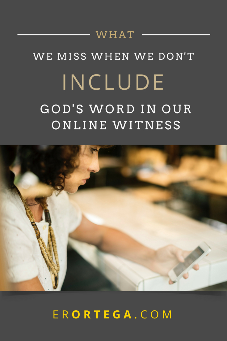 While finding new acquaintances online has been a salve to me as a writer, it's also become a relentless field of oppression and despair. My entering into Christian circles seems to be hinged on my need for biblical support, but I find more cases of feelings and sentimentality instead. How do you cope? Do you despair when you attempt to connect biblically with others and can't? Click to read full post.