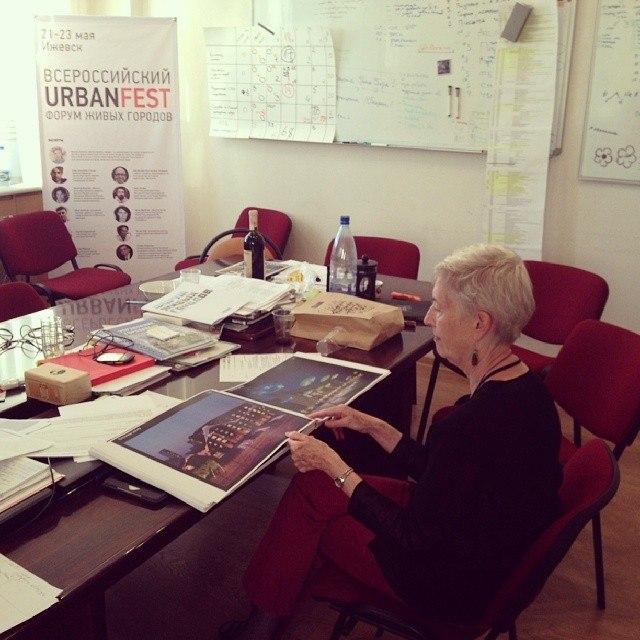 Мэрилин Хэмилтон в Ижевске на Фестивале живых городов Urbanfest (18 мая 2014)