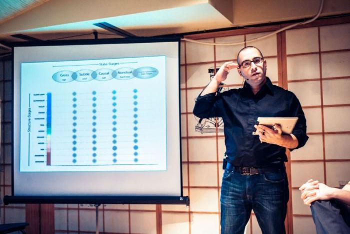Клинт Фуз. Презентация интегрального подхода на семинаре в Москве (декабрь 2012)