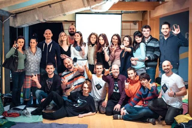 Групповое фото после семинара Мартина Учика в Москве (март 2013)