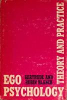Blanck & Blanck — «Ego Psychology»