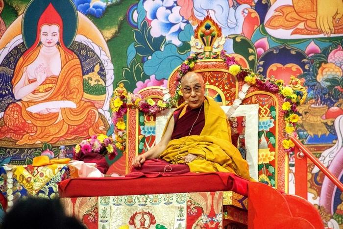 Далай-лама XIV. Учения в Риге 2016. Фото © Татьяна Парфёнова