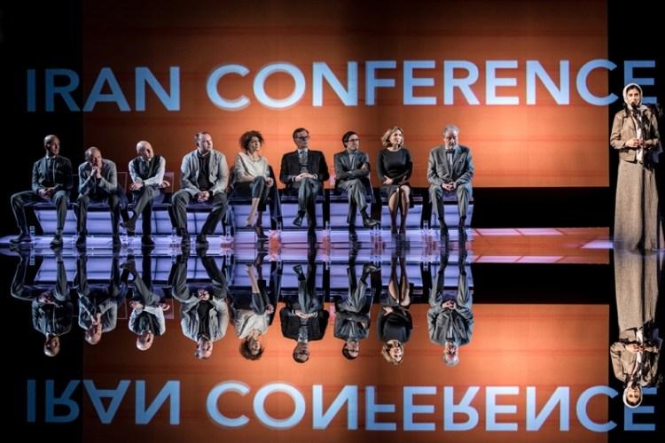 Спектакль «Иранская конференция». (Автор фото: Ира Полярная)