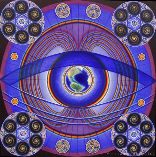 Иллюстрация © James Moss, «Космический биогенез» (Cosmic Biogenesis)