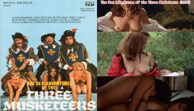 The Sex Adventures of the Three Musketeers (1971) watch online