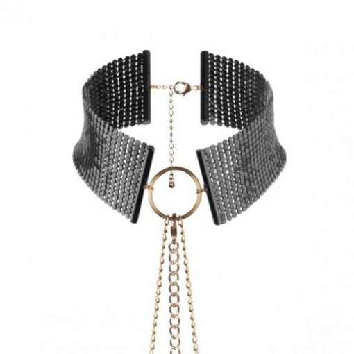 Collar metálico negro Désir Métallique