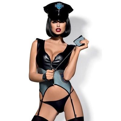 Disfraz Sexy Policía Obsessive